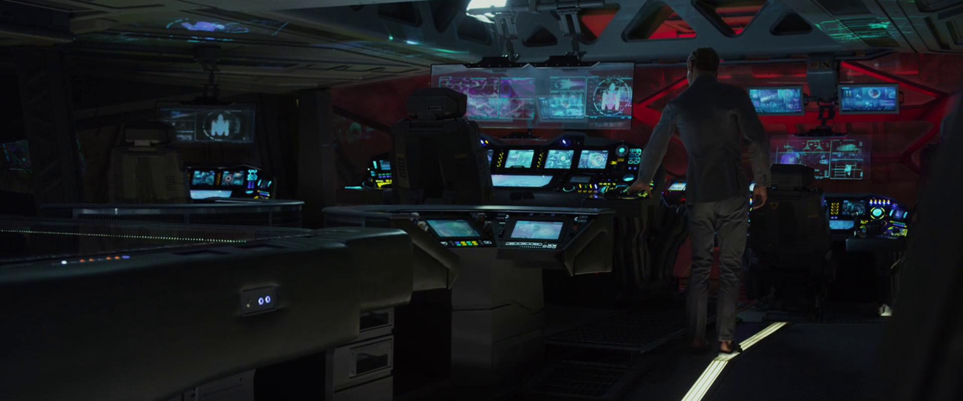 Star Trek Inspired Control Center Under Construction