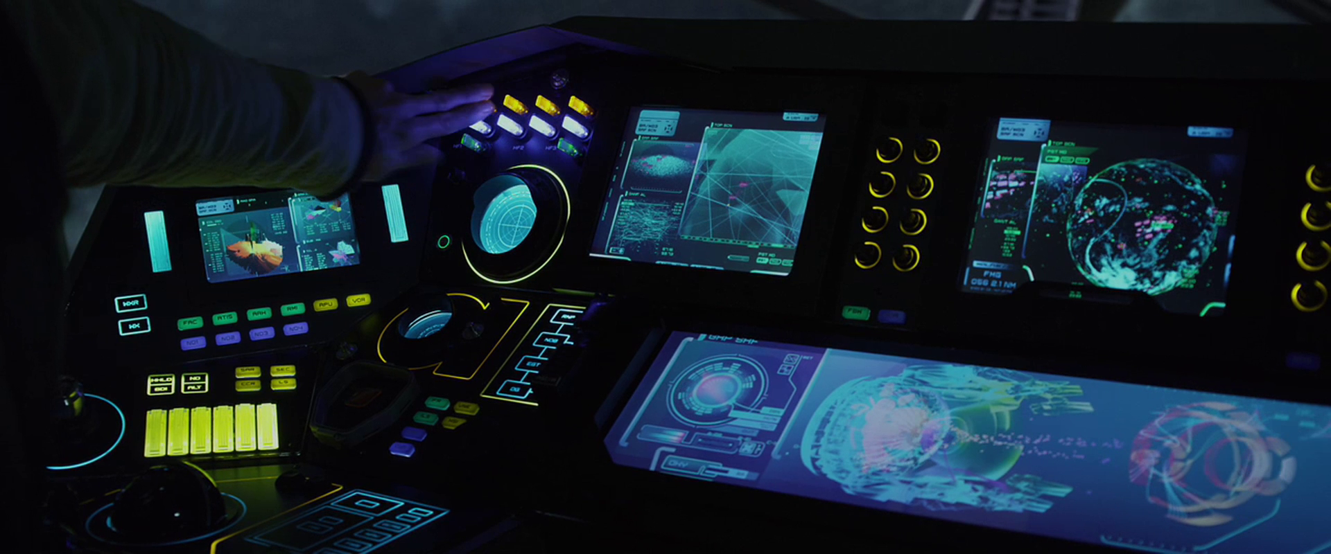 Sci Fi Control Panel Wallpaper : Flight instrument panels sci fi interfaces