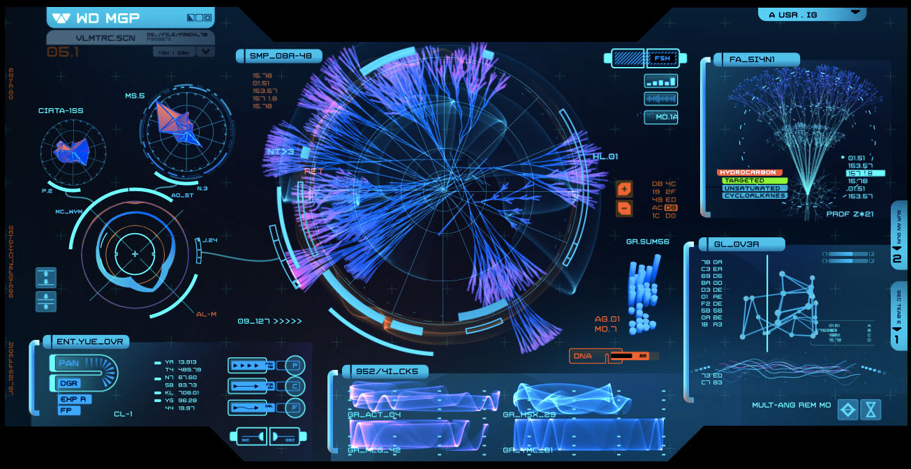 Prometheus (2012) | Sci-fi interfaces