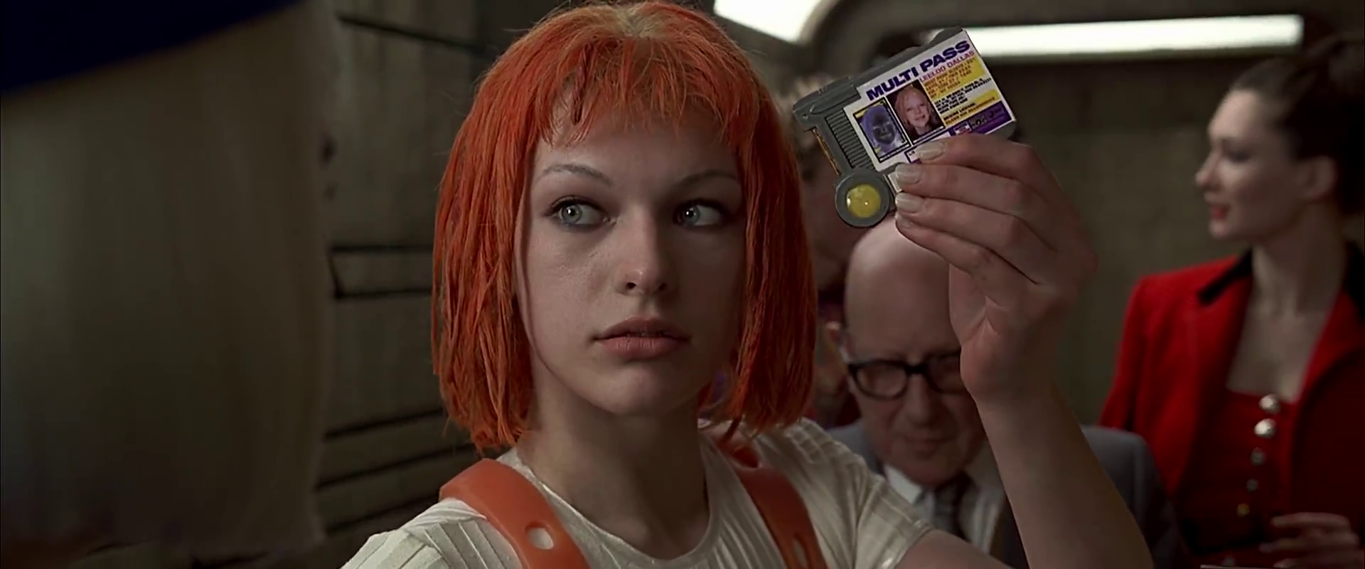 Multipass | Sci-fi int... Milla Jovovich Photos From The Fifth Element