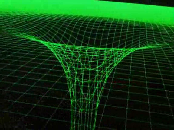 Gravitic distortion | Sci-fi interfaces